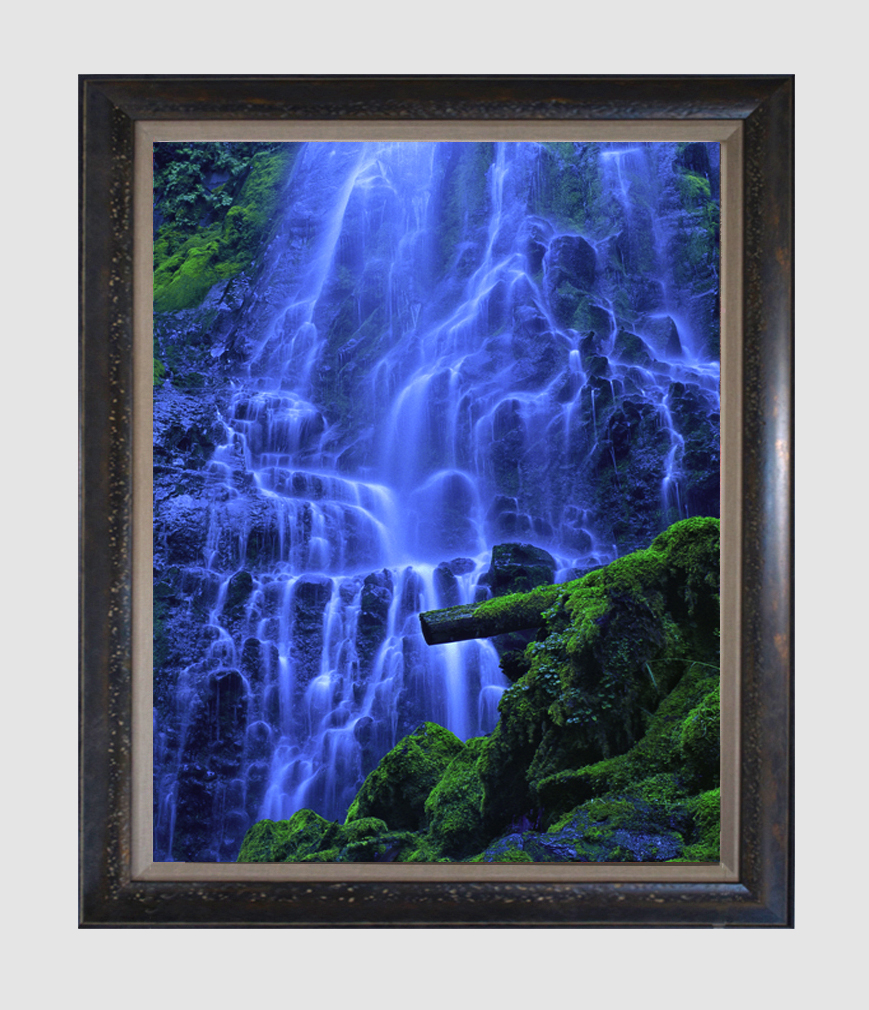 """Enchanted Valley""  18""x24"" framed photograph"