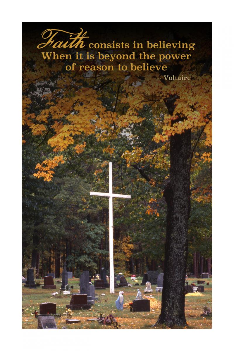 "POSTER: ""Faith"" (Large)"
