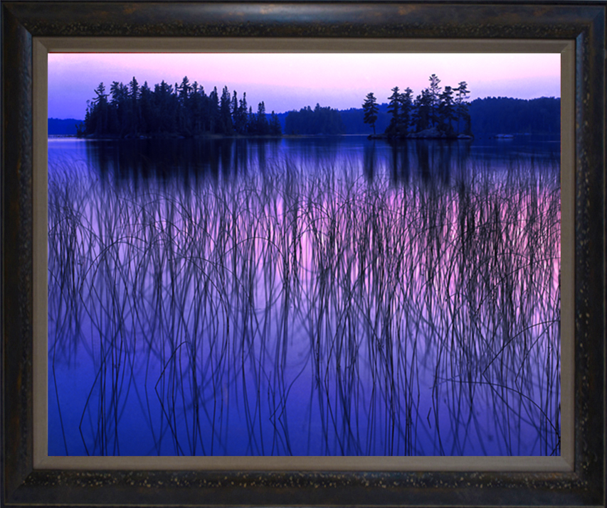 """Canadian Blues"" 18""x24"" Framed photograph"