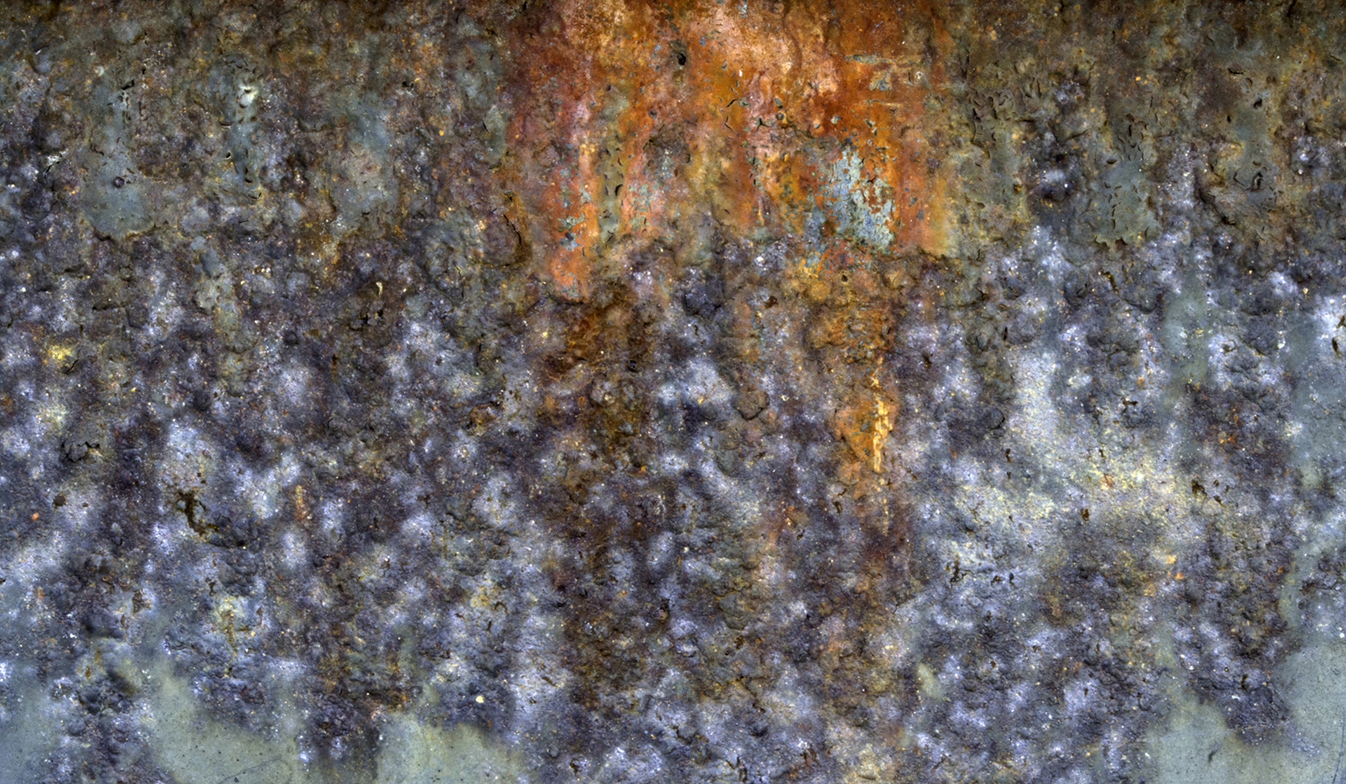 """Rust Pano"", 20"" x 40"" gallery-wrap canvas"