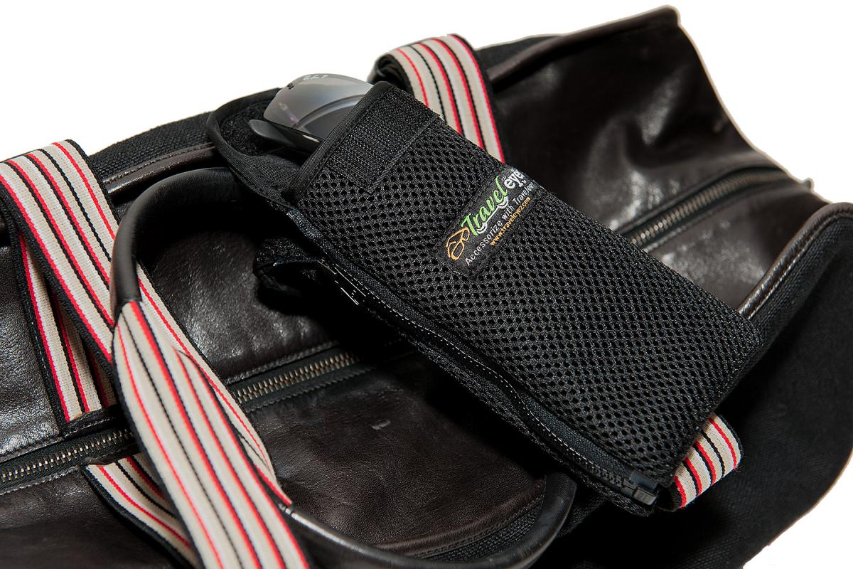 TravelEyez Mesh Case-Black Zippers