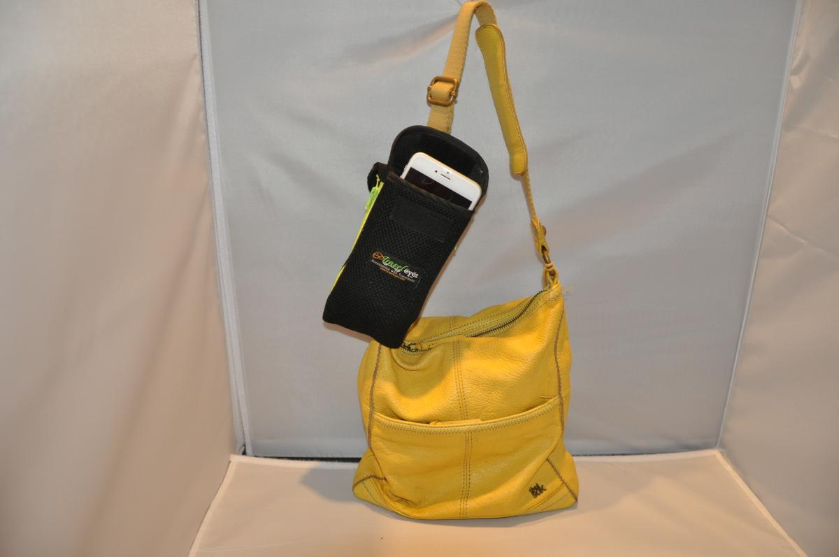TravelEyez Mesh Case-Yellow Zippers