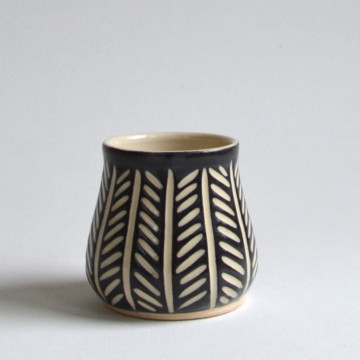 10 oz Cup-Herringbone