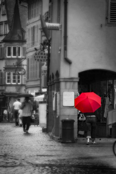 Red Umbrella, Colmar, France