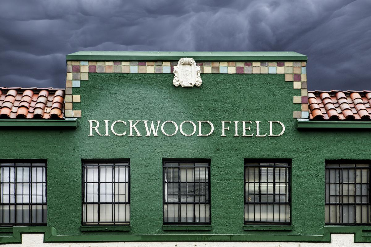 Rickwood Field Sign