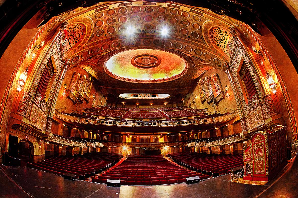 Alabama Theatre Stage View