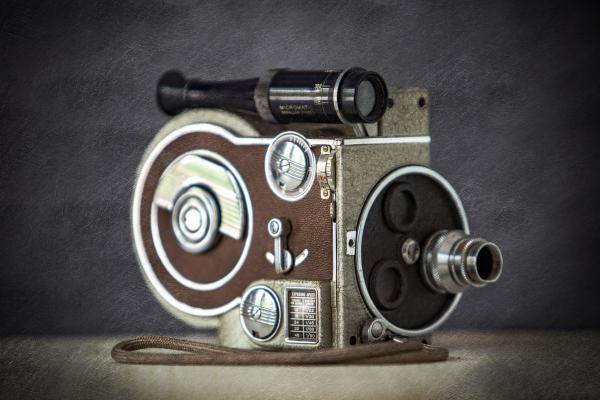Vintage Movie Camera picture