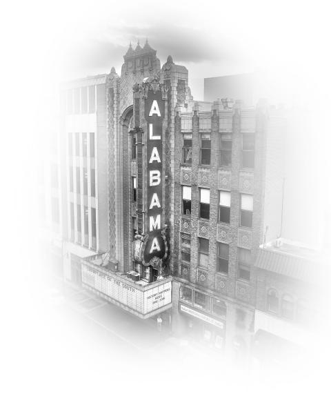 Fog Series, Alabama Theatre, From Above