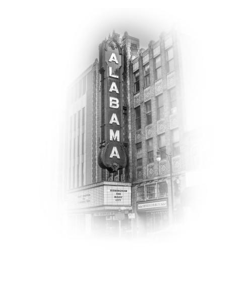 Fog Series, Alabama Theatre, Right Side picture