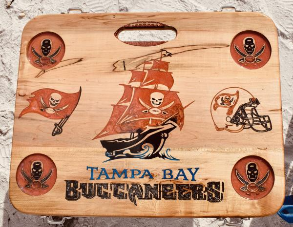 Buccaneers Beach, Boat & Tailgate Table