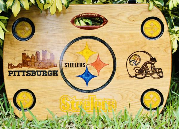 Pittsburg Steelers Beach, Boat, & Tailgate Table