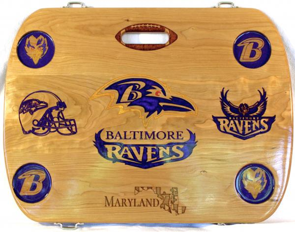 Baltimore Ravens Beach, Boat, & Tailgate Table