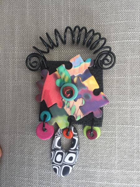 Puzzled Magnetic Brooch/Necklace picture