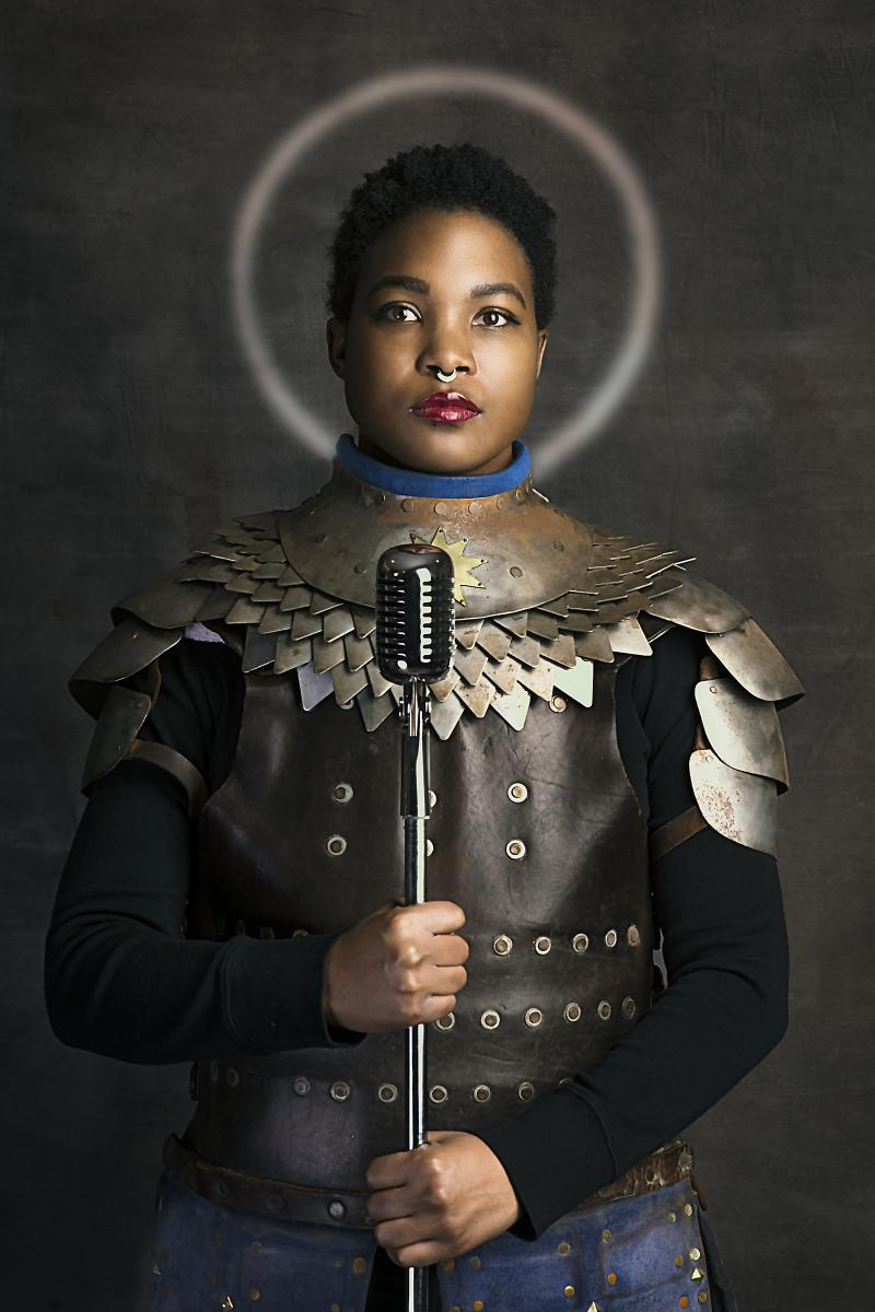 "For Saint Joan of Arc  (17"" x 25"" archival pigment print)"