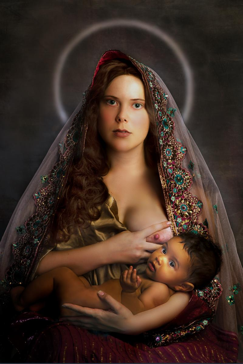 "For Holy Mary  (17"" x 25"" archival pigment print)"