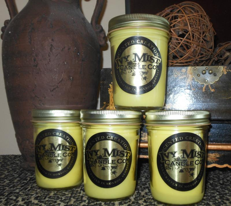 Ivy Mist Candles