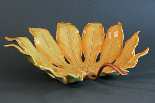 Fatsia Japonica Leaf Bowl picture