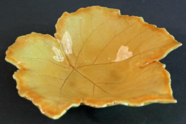 Grape Leaf Bowl-Ceramic