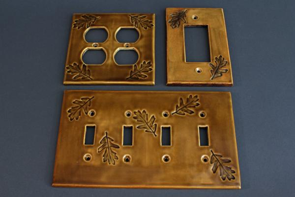 Oak Lightswitch/Outlet Covers