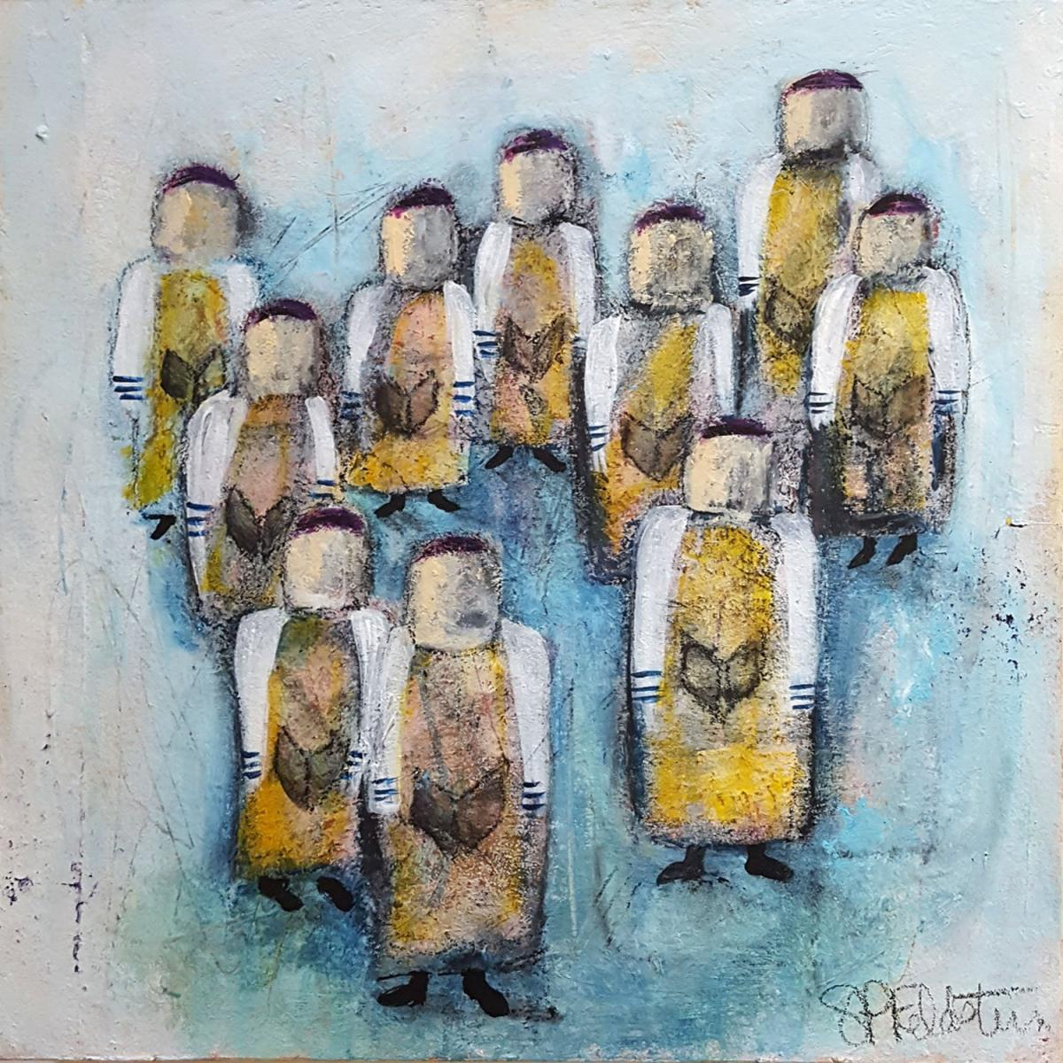 Minyan | Group of Ten | 12 x 12