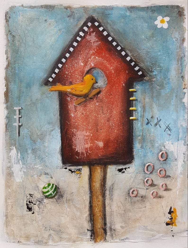 The Birdhouse  | 20 x 16