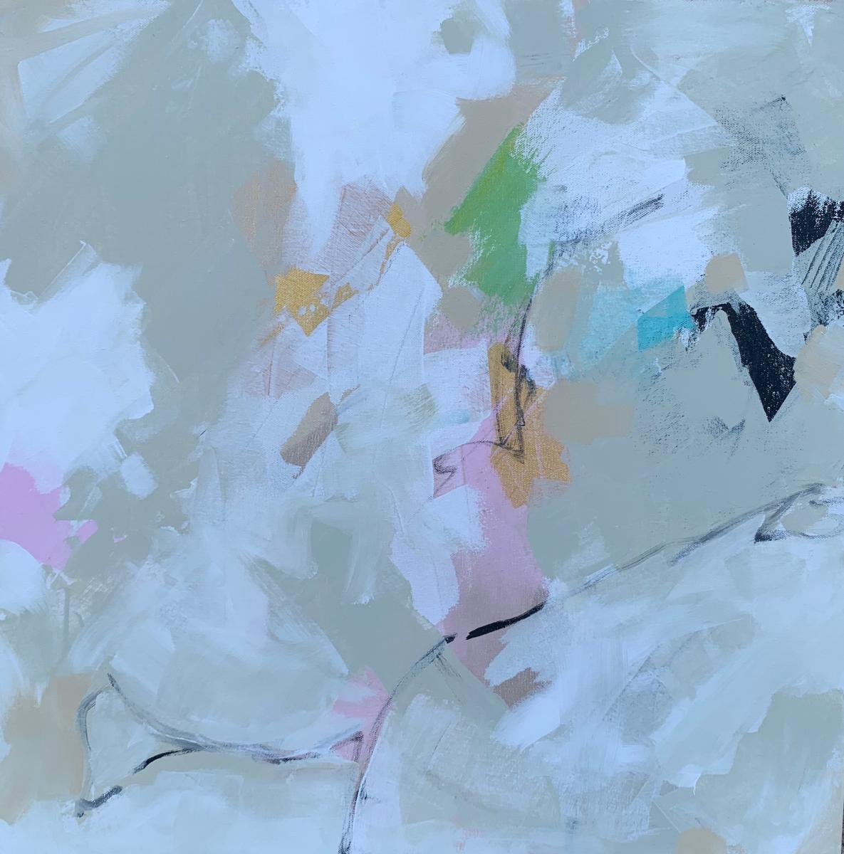 Abstract Palette painting #1 20x20