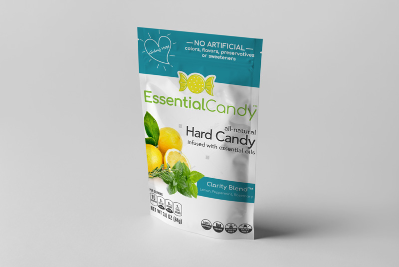 CLARITY BLEND HARD CANDY WITH LEMON, PEPPERMINT AND ROSEMARY