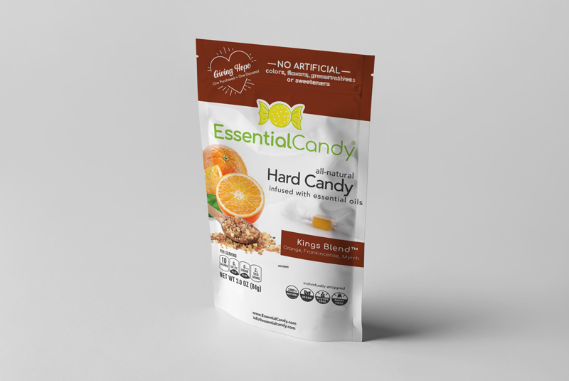 KINGS BLEND HARD CANDY WITH ORANGE, FRANKINCENSE, AND MYRRH