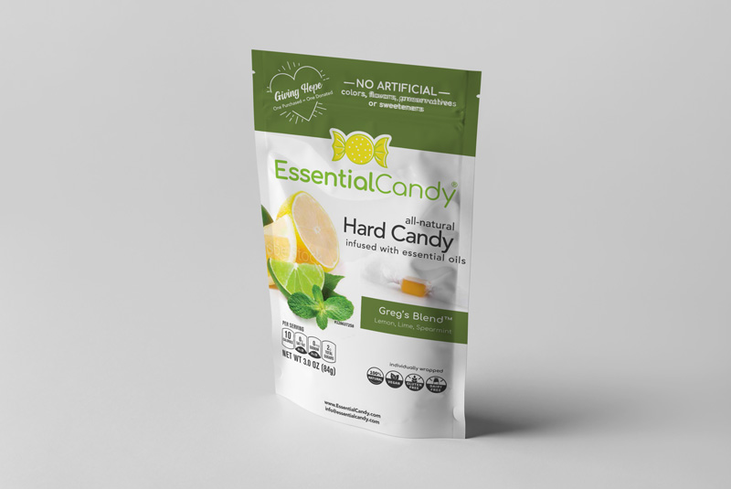 GREG'S BLEND HARD CANDY WITH LEMON, LIME, AND SPEARMINT