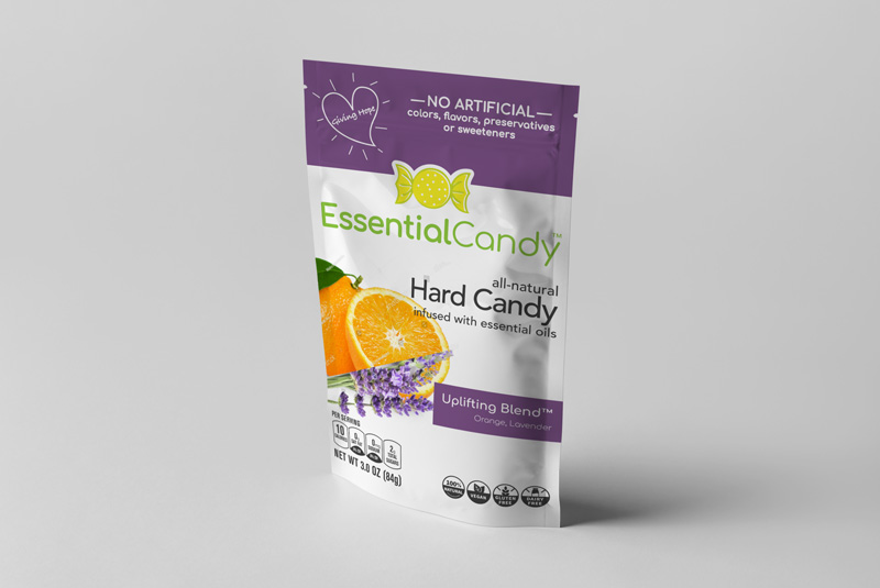 UPLIFTING BLEND HARD CANDY WITH ORANGE AND LAVENDER