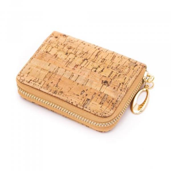 Cork Zipper Wallet
