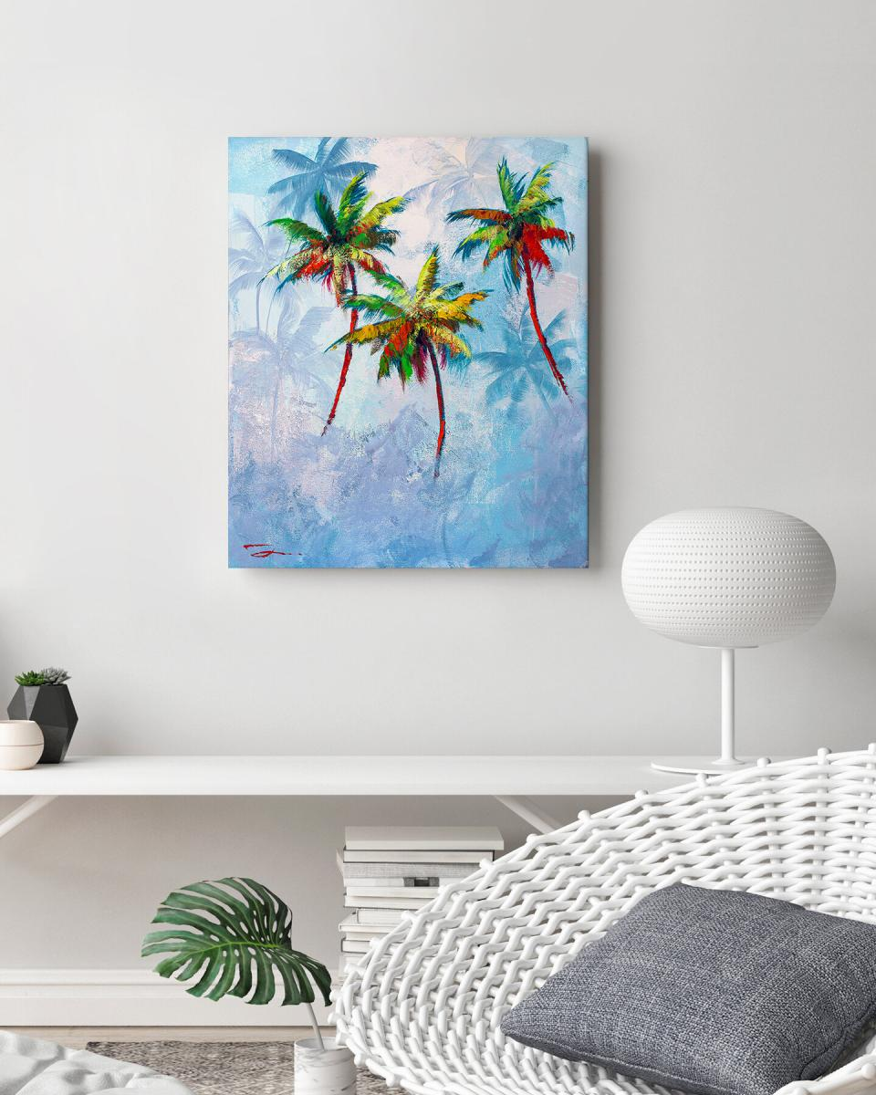 Trees In Paradise 17x25