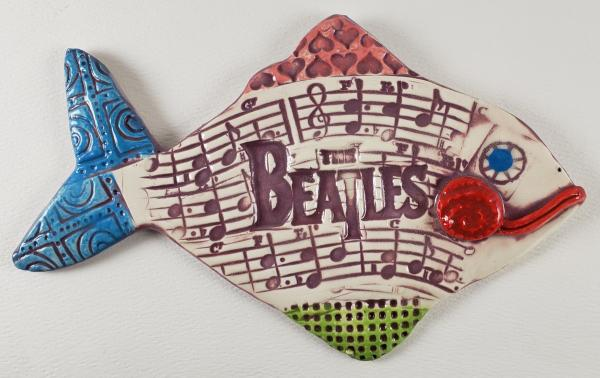 The Beatles Ceramic Fish