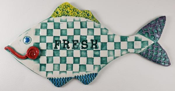 Fresh Ceramic Fish