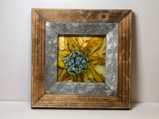 Sunflower - Alcohol ink