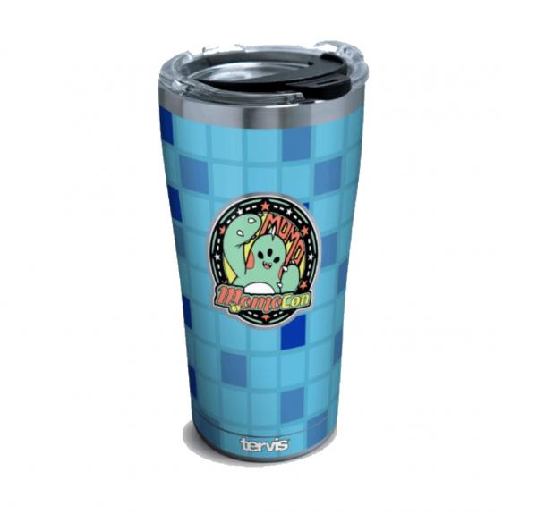 MomoCon Blue & Grey Tumbler