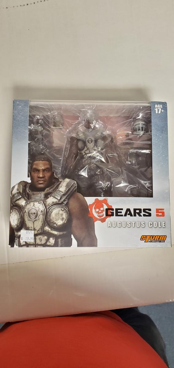 Storm COLLECTIBLES GEARS OF WAR 5 AUGUSTUS COLE FIGURE