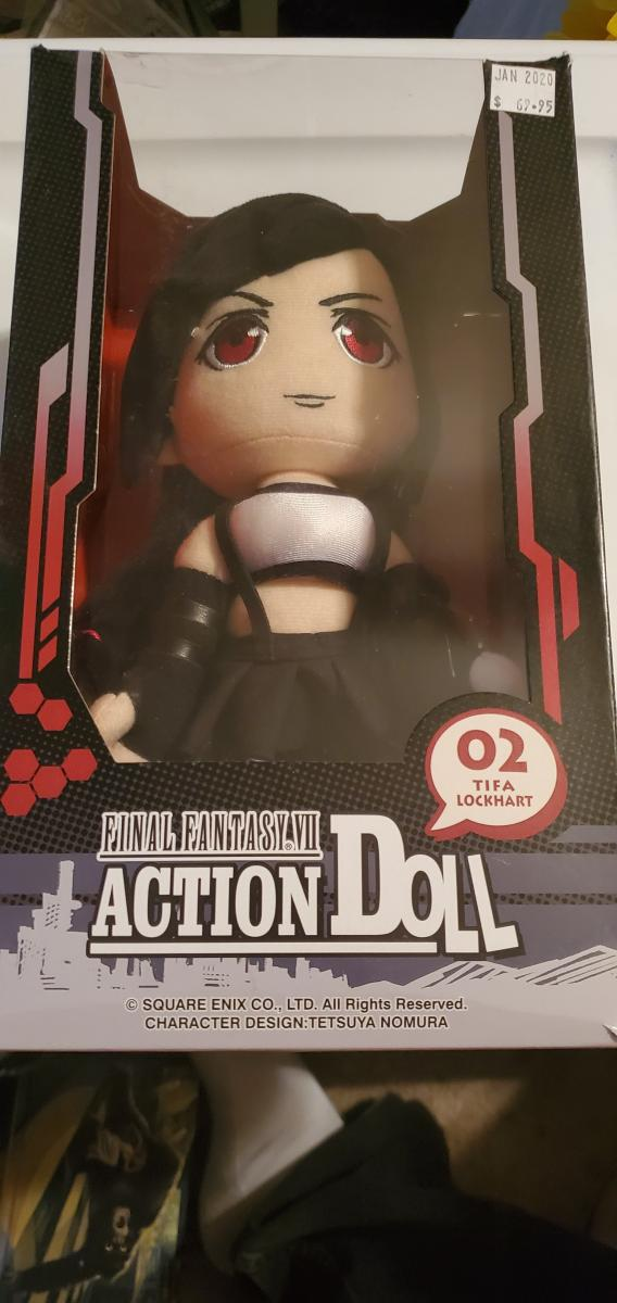 Final fantasy 7 action doll to Tifa Lockhart square enix
