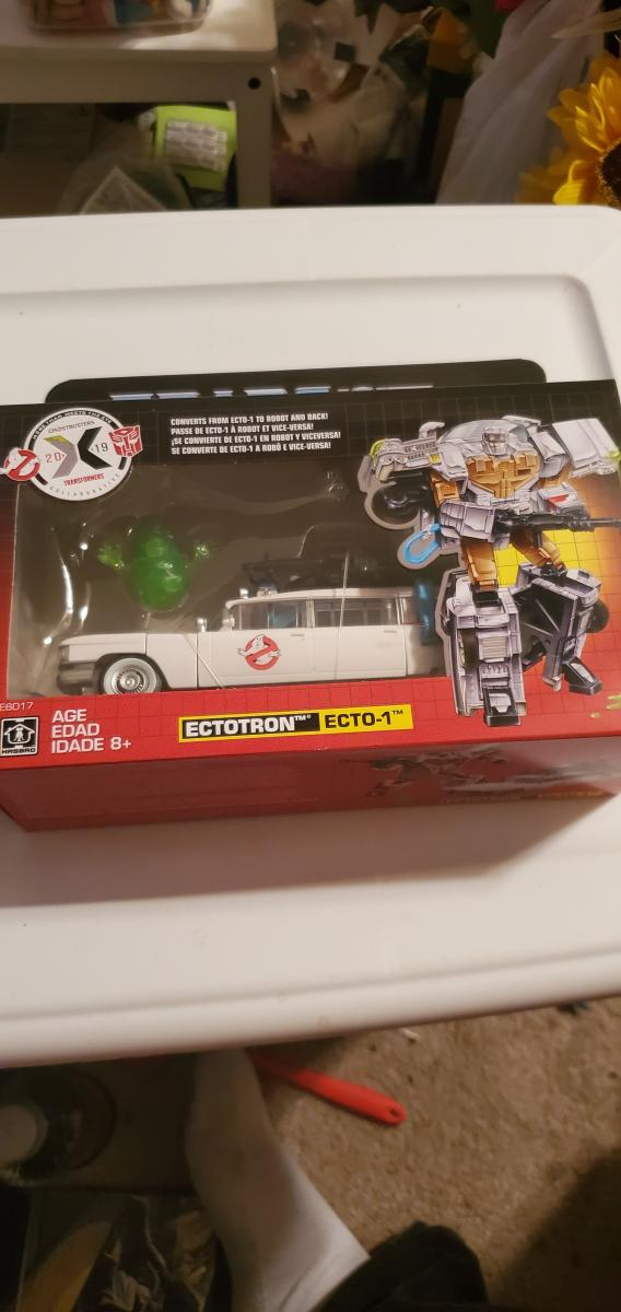 Transformers Ectotron Ecto 1  Ghostbusters