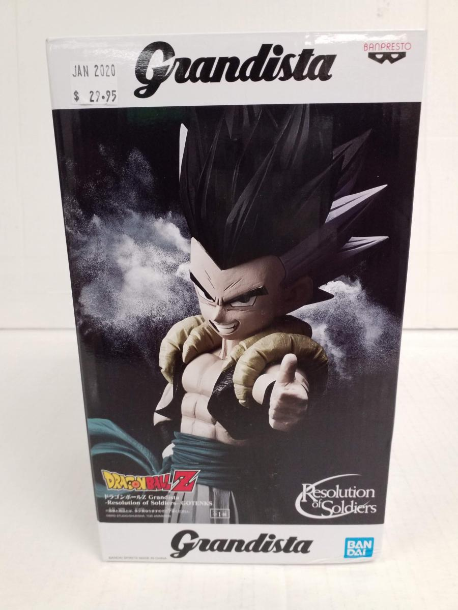 Grandista DragonBall Z -Resolution of Soldiers- Gotenks figure