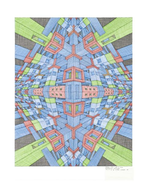 "Rhomboidal Structure 8"" x 10"" Reproduction print"