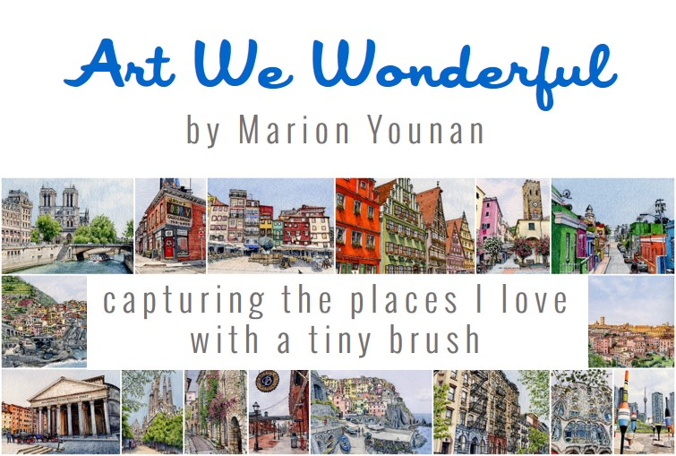 Art We Wonderful by Marion Younan