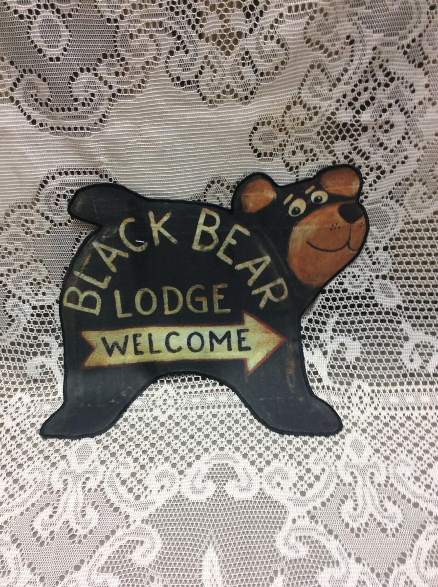 Black Bear Lodge Flags