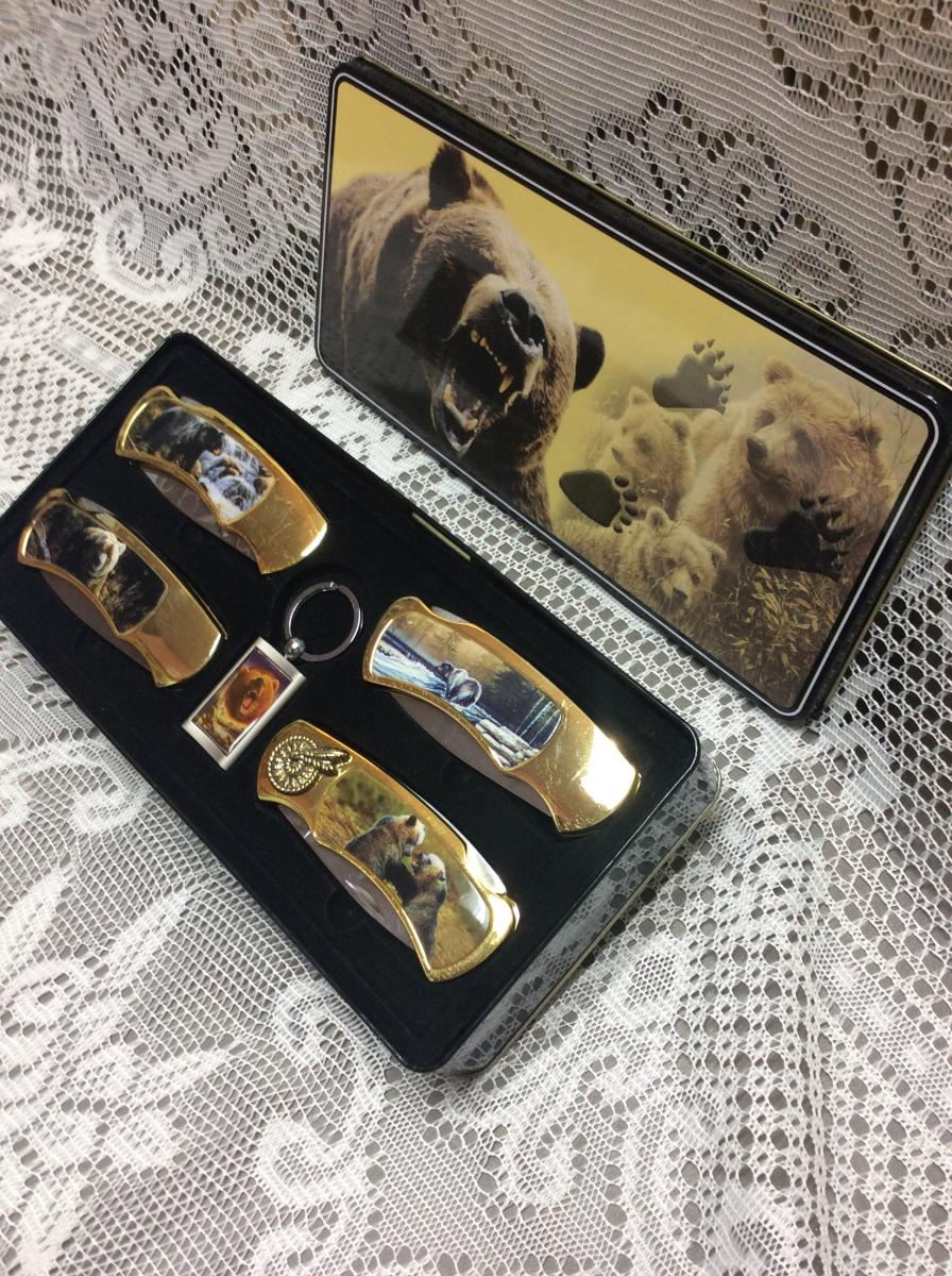 Bear Collector Knife Set