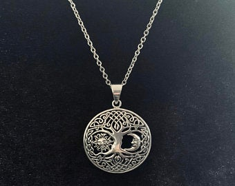 Silver Celtic Necklace picture