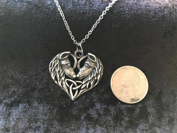 Medieval Metal Pendants+Chain picture