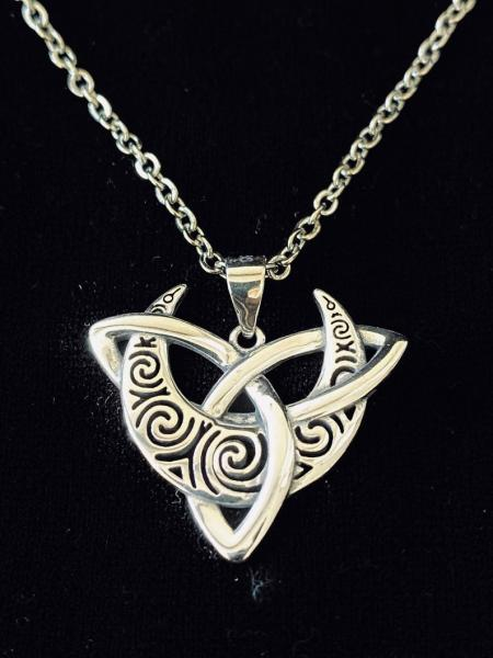Sterling Silver Celtic Trinity Pendant picture