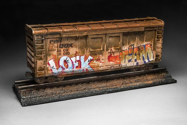 Graffitti Box Car