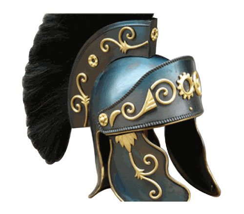 King Arthur Helmet Black