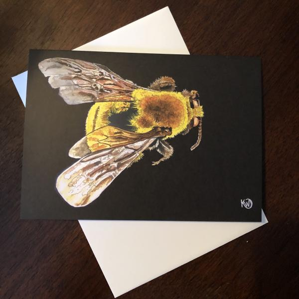 Morrison Bumble Bee Greeting Card